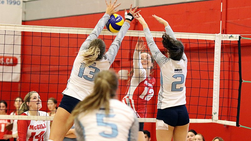 Volleyball Martlets dispatch Gee-Gees back to Ottawa - McGill University