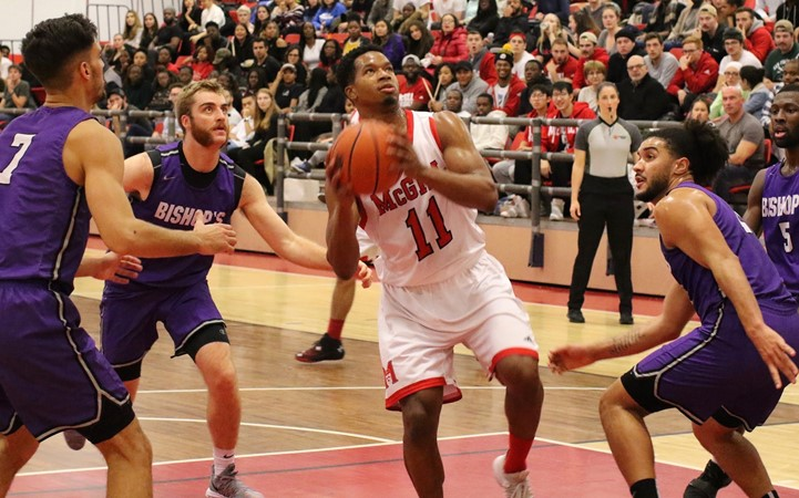 Gaiters take advantage of depleted Redmen roster to manhandle McGill hoopsters - McGill University