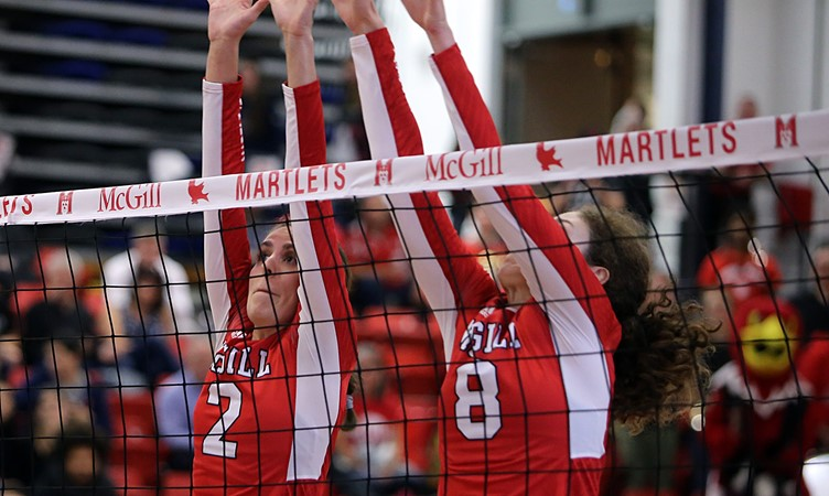 Robitaille rules roost as McGill volleyballers lasso Laval