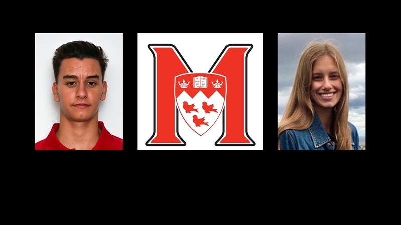 Secchi and Danyluk named McGill athletes of the week