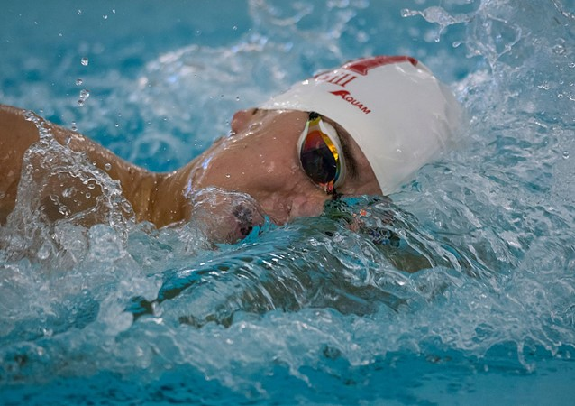 Secchi strikes again, wins three gold medals to merit swimmer of meet honours