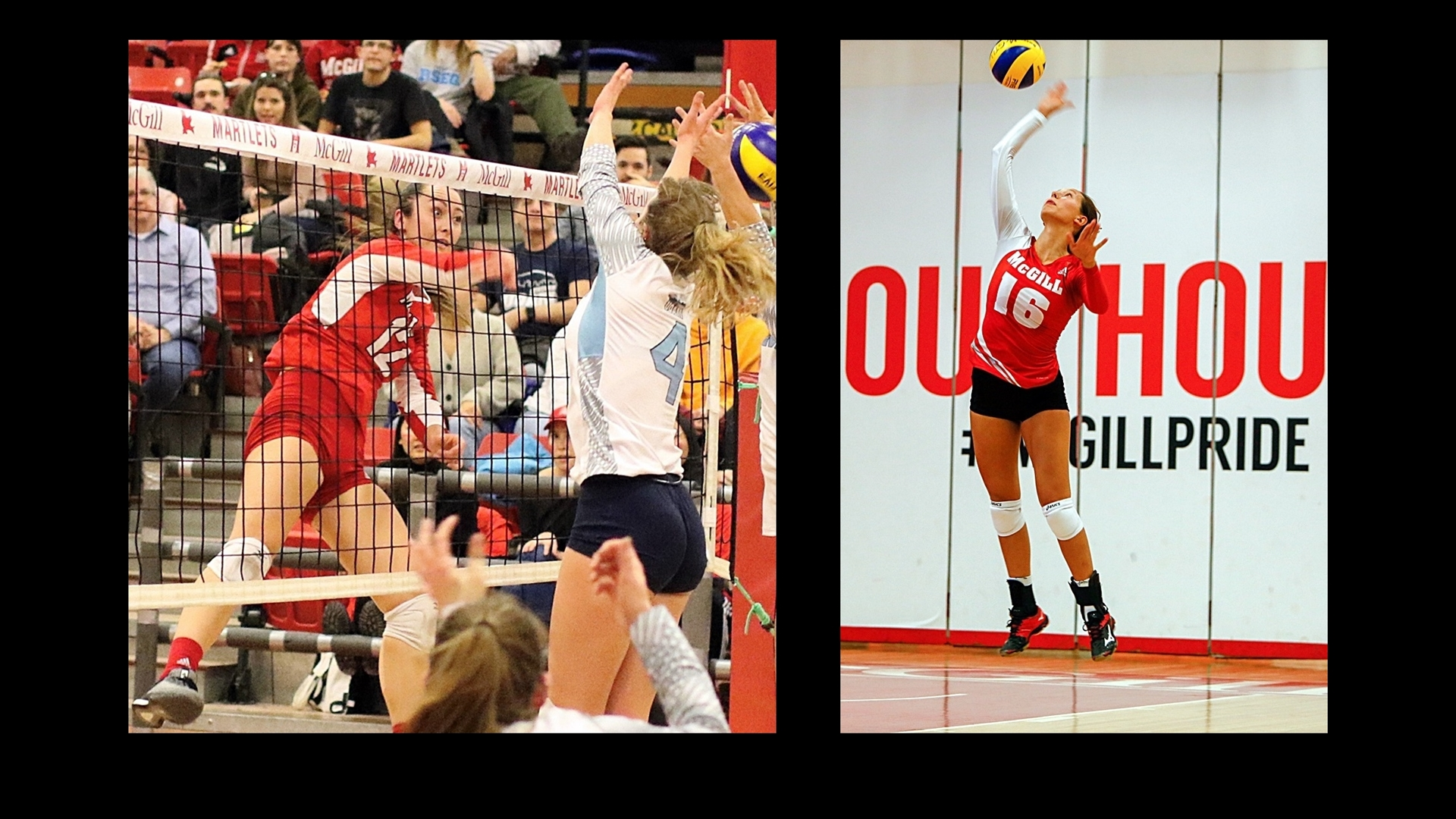 McGill volleyball's Vercheval merits All-Canadian status