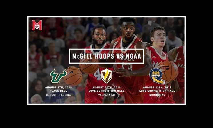 McGill to play three NCAA opponents in 119th season of college hoops - McGill University Athletics