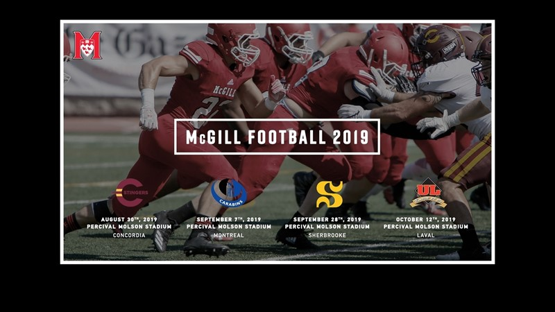 Season tickets now on sale for 139th year of football on McGill campus - McGill University Athletics