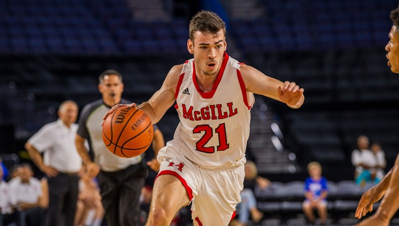 NCAA's Bobcats pounce on McGill in college hoops