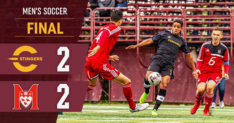 Cinelli superb as soccer squad settles for draw against Stingers