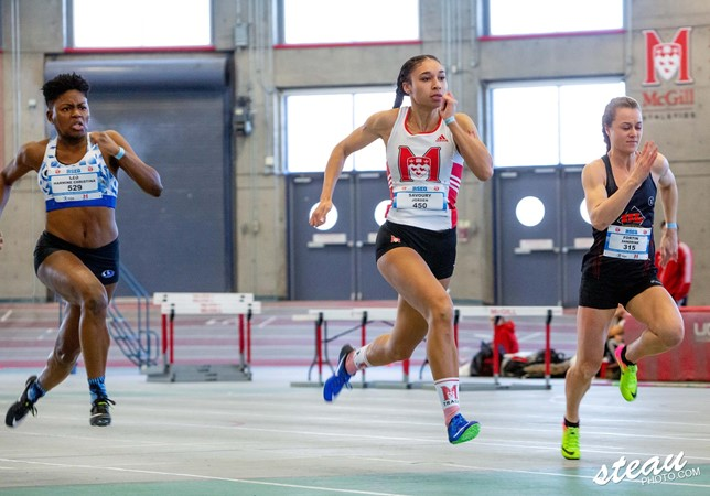 TRACK: Sophomore Savoury shines, conquers Winterfell with 3 golds, 1 silver