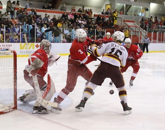 Pats rally with four unanswered goals in hockey win over McGill