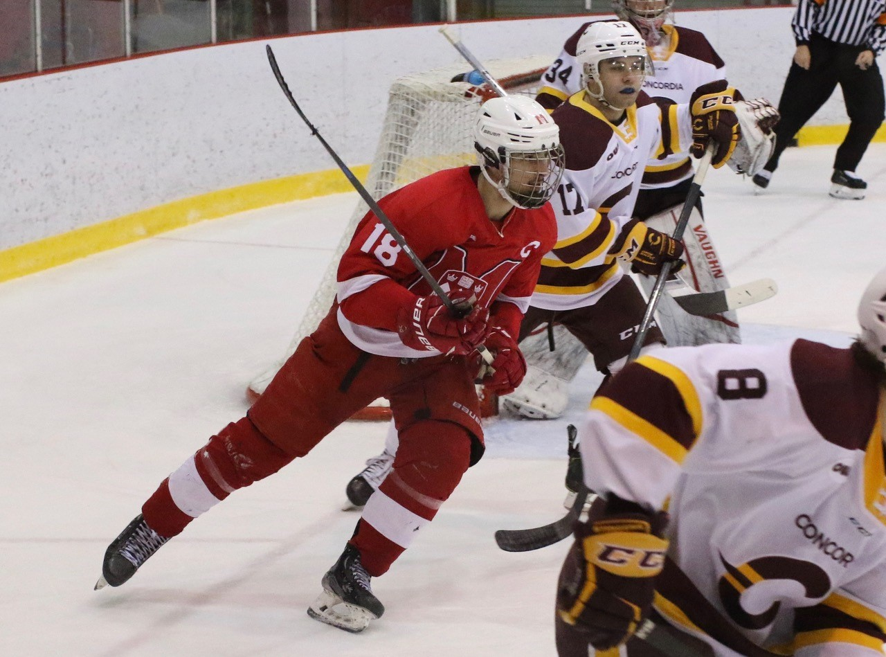 McGill's Samuel Tremblay (PHOTO: DEREK DRUMMOND)